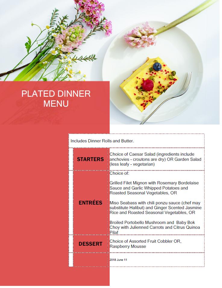 Menu plated dinner_7